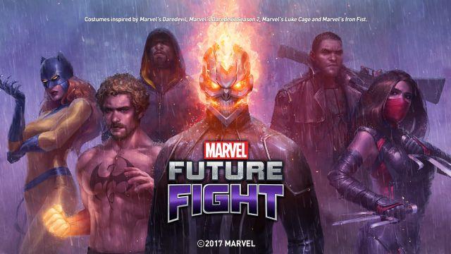 Ghost Rider, Marvel Future Fight'a teşrif etti