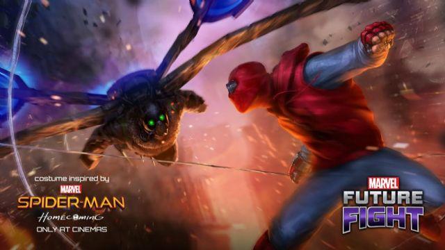 Marvel Future Fight - Örümcek Adam güncellemesi