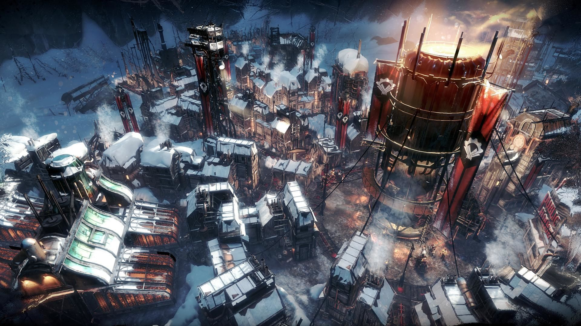 The popular strategy game Frostpunk is coming to mobile