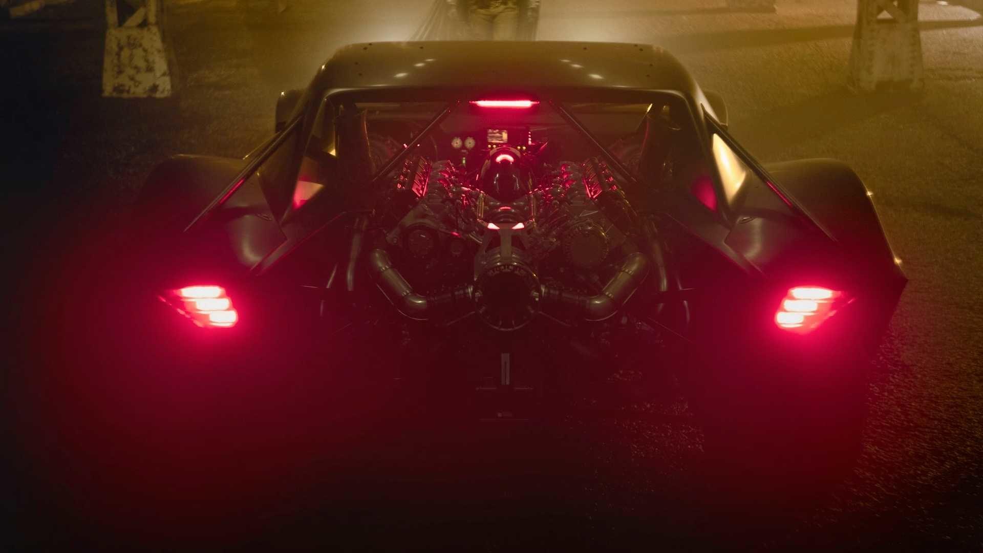 The Batman filminden Batmobile fotoğrafları yayınlandı