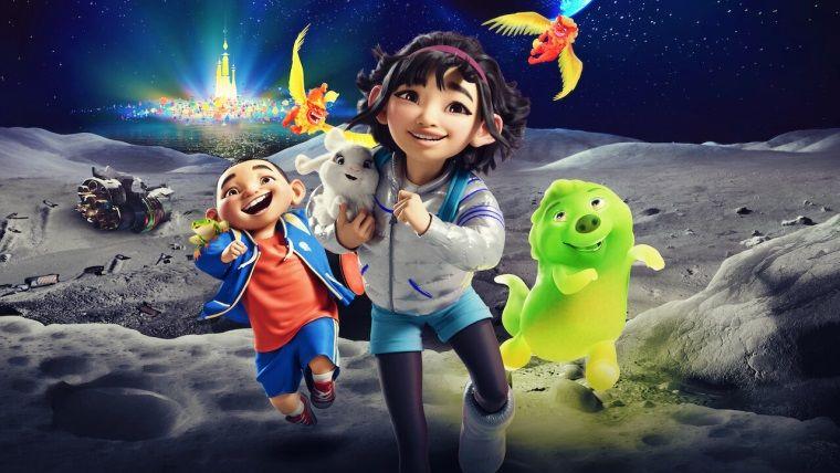 Netflix'in yeni animasyon filmi Bir Ay Masalı yayınlandı