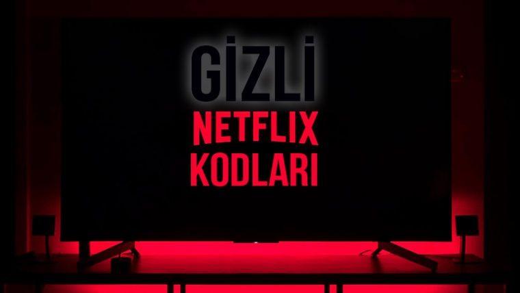 Netflix gizli kodları olduğunu biliyor muydunuz?