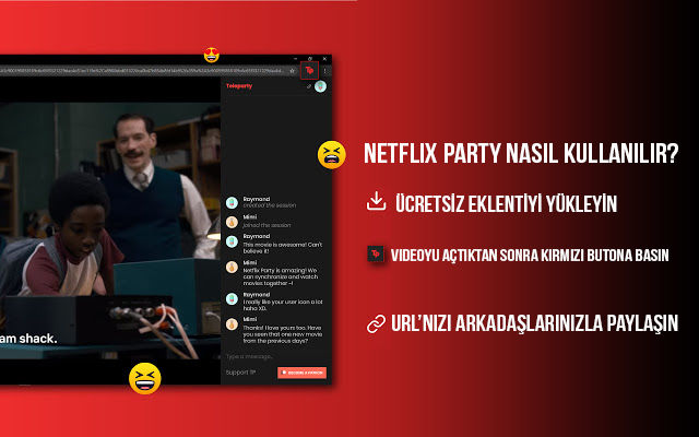 How to use Netflix Party?