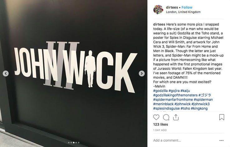 İlk fragmanı beklenen John Wick 3'ün logosu ortaya çıktı