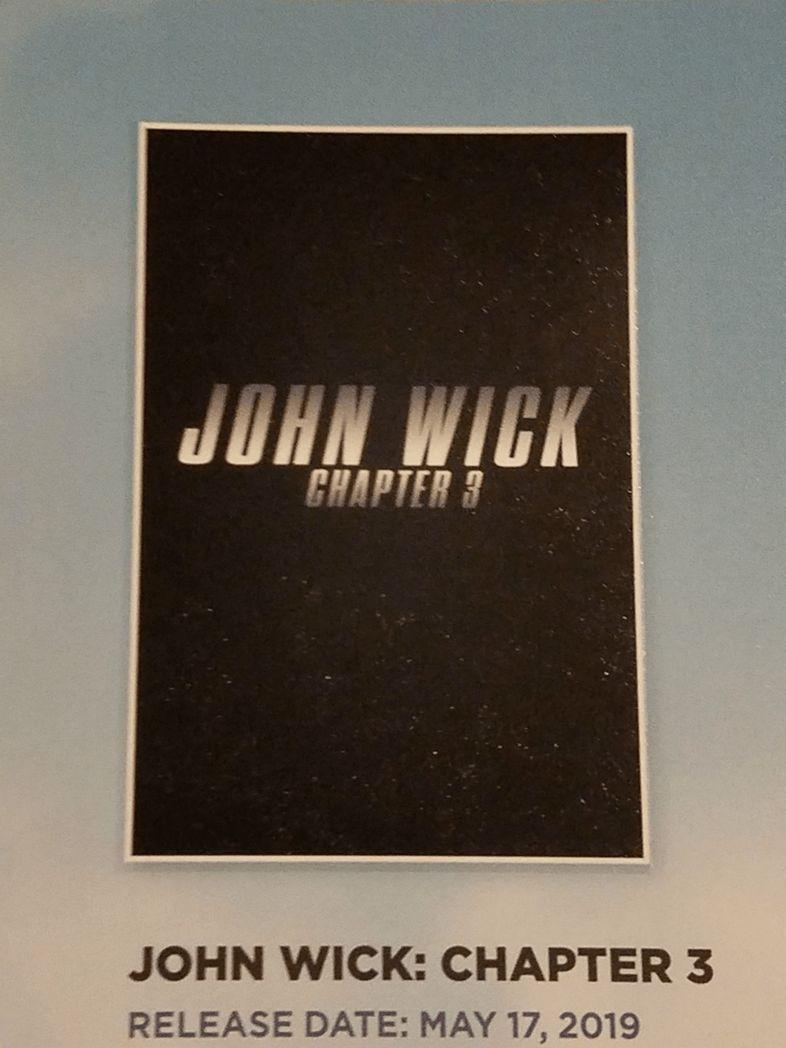 John Wick 3'ün ilk posteri ile birlikte detayları da açıklandı