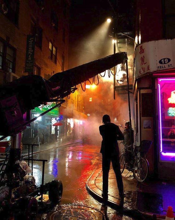 John Wick 3'ün kamera arkası görüntüleri gelmeye başladı