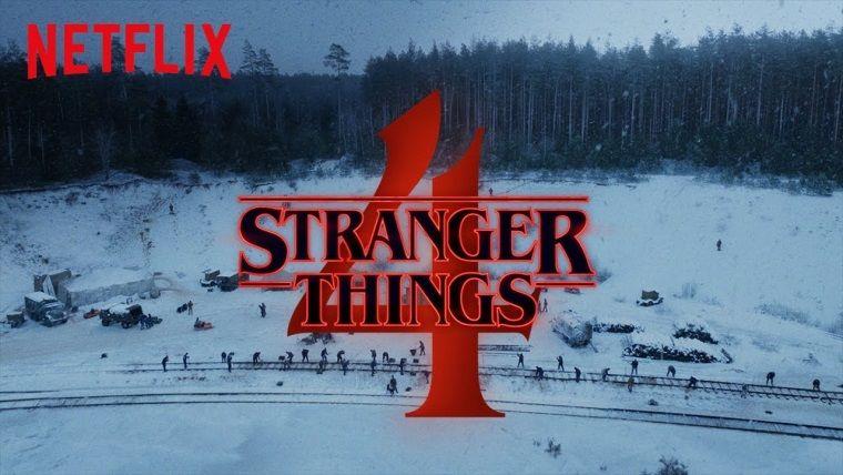Stranger Things 4.sezon için ilk video yayınlandı
