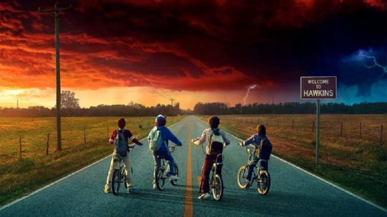 Stranger Things 2.sezon fragmanı resmen ateş ediyor