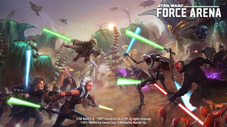 Force Arena'ya Yoda ve Anakin Skywalker eklendi
