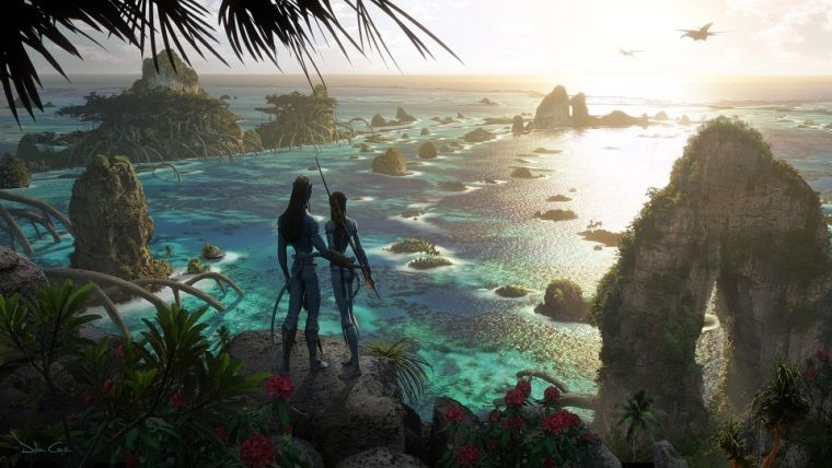 Avatar 2 filminden set arkası bir görsel yayınlandı