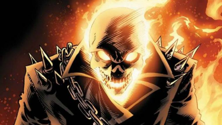 Ghost Rider Marvel vs Capcom: Infinite yolcusu