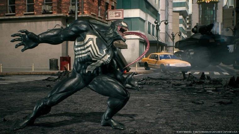 Venom, Marvel vs Capcom yolcusu
