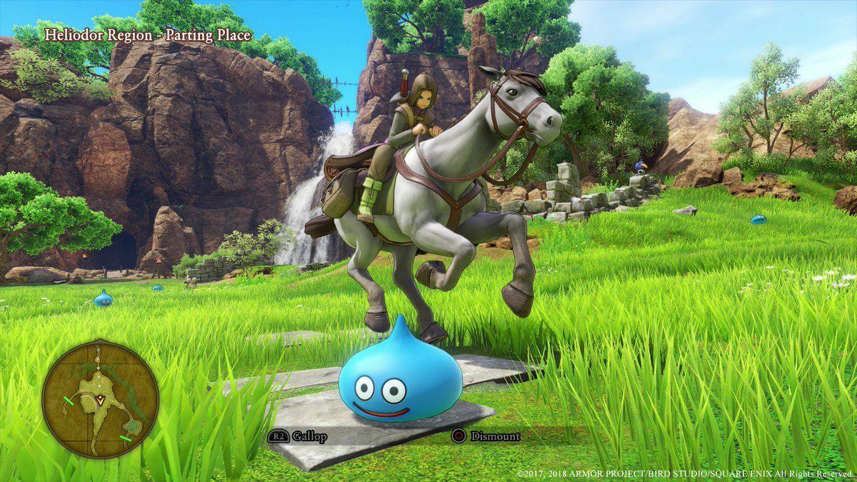 Dragon Quest XI: Echoes of an Elusive Age ekran görüntüleri geldi
