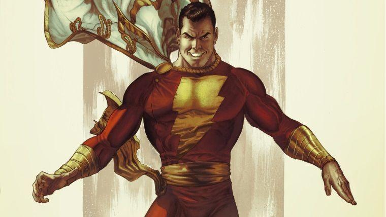 DC'nin merakla beklenen Shazam! filminin logosu ortaya çıktı