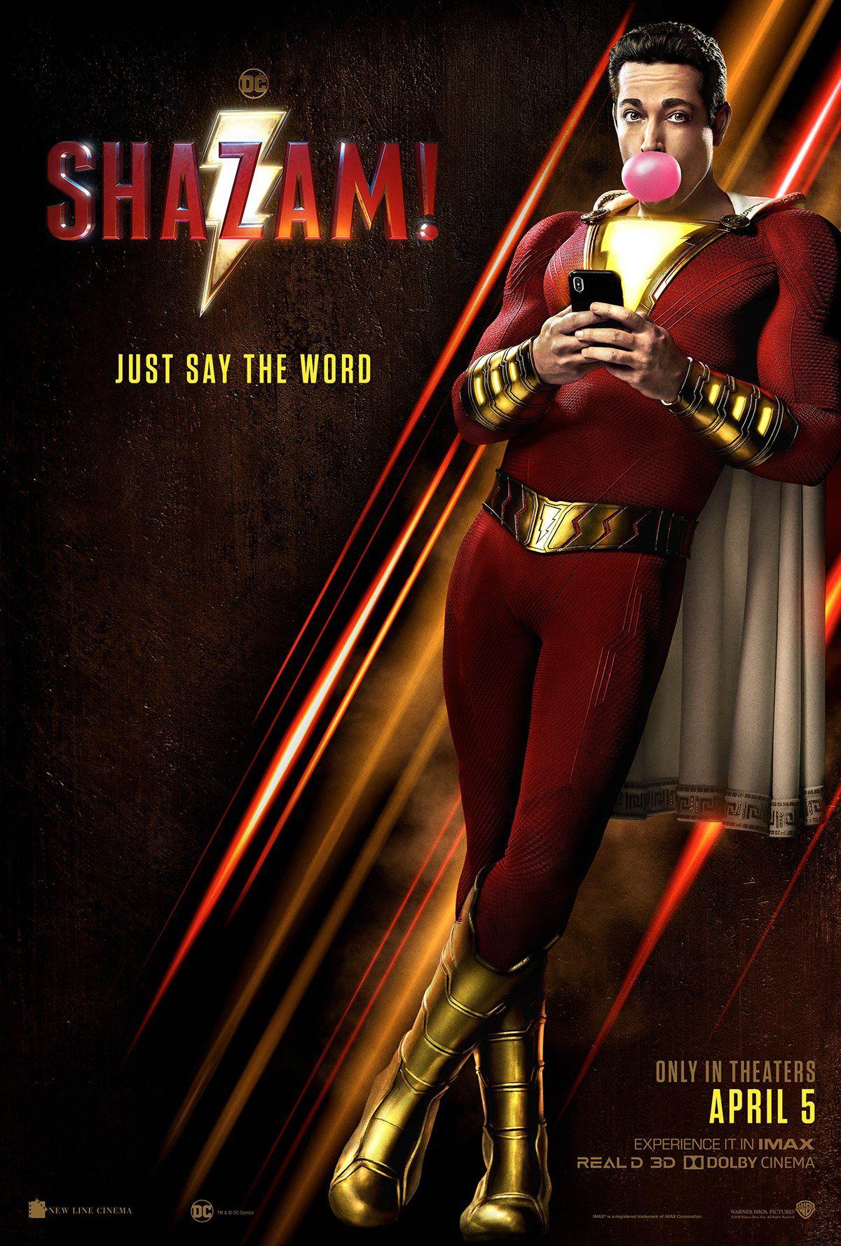 Shazam filminin yeni fragmanı yayınlandı