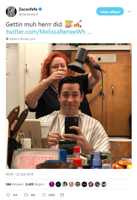 Zachary Levi, yayınladığı fotoğraf ile Shazam saçını gösterdi