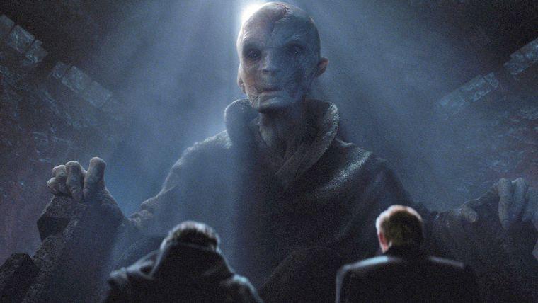 Supreme Leader Snoke'un gemisi sonunda gözüktü