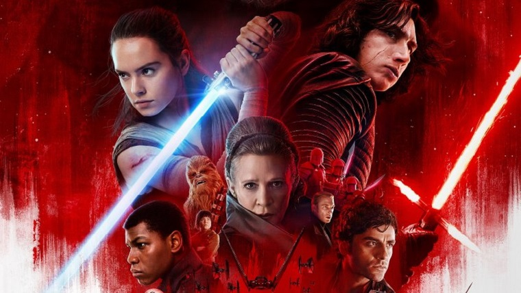 SW: The Last Jedi için yeni bir poster yayınlandı