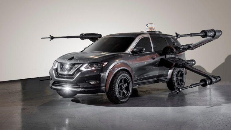 Nissan'dan X-Wing arabası geldi