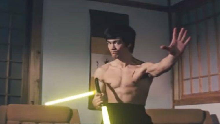 Bruce Lee, Star Wars filmlerinde oynasaydı nasıl olurdu?