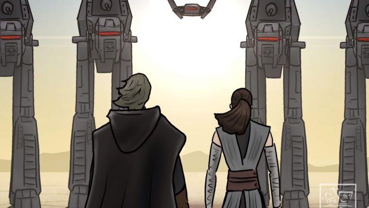 Star Wars : The Last Jedi'ın nasıl bitmesi gerekiyordu?