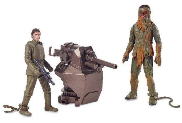 Oyuncaklar, Han Solo ve Chewbacca'nın nasıl tanıştığını sızdırdı