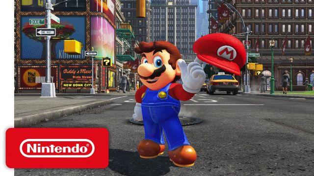 Super Mario Odyssey'in oynanış fragmanı geldi