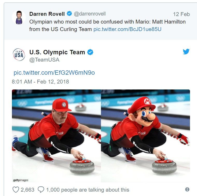 Kış Olimpiyatları'nda Super Mario'ya benzeyen bir sporcu var
