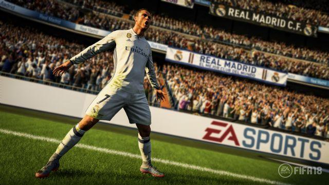 FIFA 18'in ilk resmi ekran görüntüleri