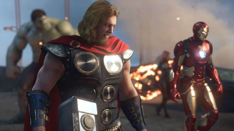 Avengers oyunundan Thor oynanış videosu sızdırıldı