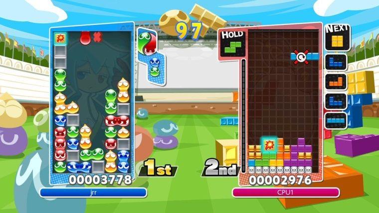 Puyo Puyo Tetris, onca platformdan sonra PC'ye de geliyor