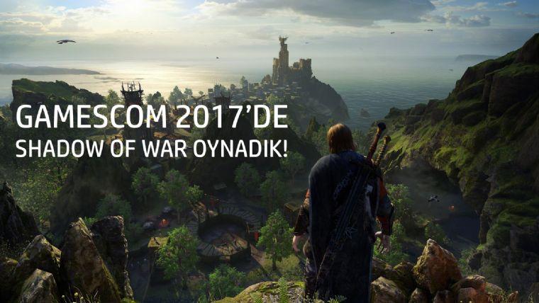 Gamescom 2017'de Middle-earth: Shadow of War oynadık!