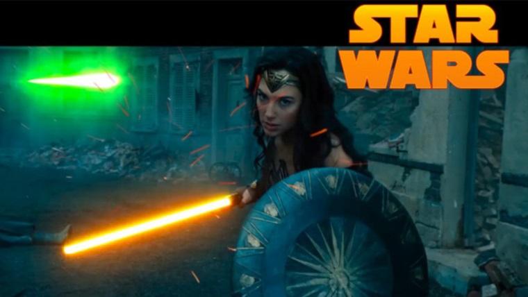 Wonder Woman'ı bir de ışın kılıçları ile izleyin