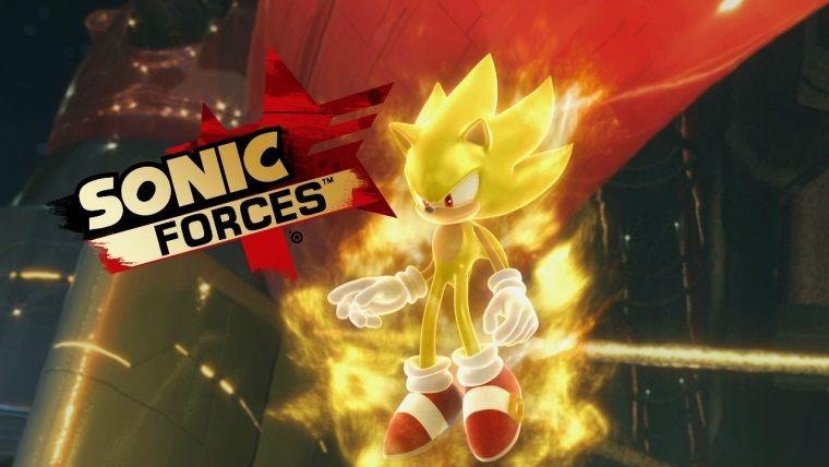 Super Sonic şimdi Sonic Forces'da