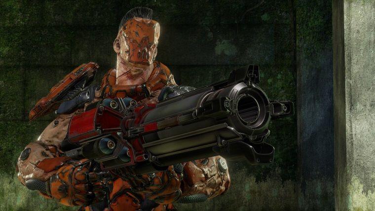 Quake Champions'dan Gore sistemini tanıtan bir video geldi