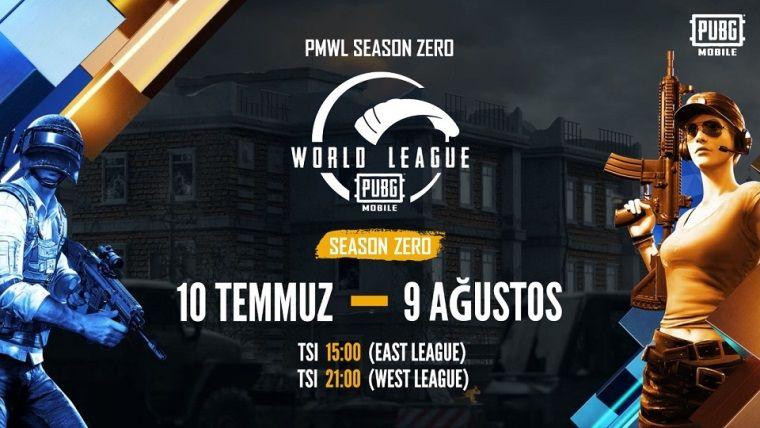 Pubg Mobile World League Season Zero özel sezonu çıktı