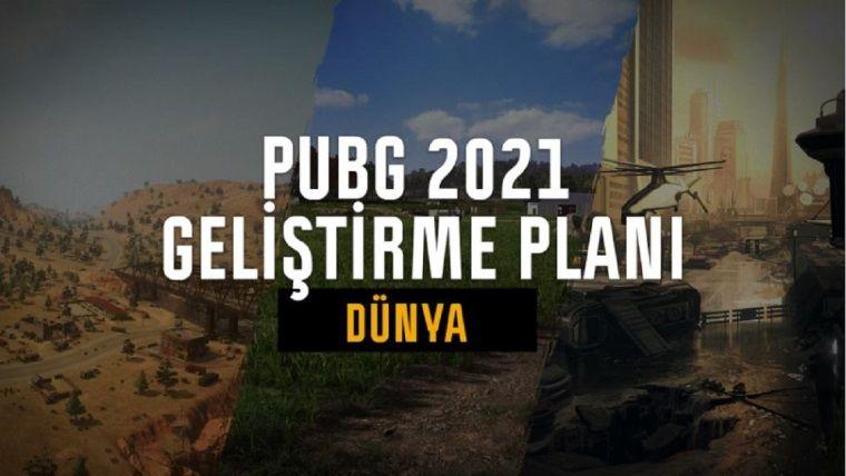 PUBG 2021 yol haritası açıklandı