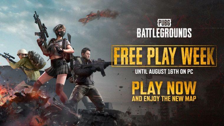 PUBG: Battlegrounds bir hafta boyunca ücretsiz oynanabilecek