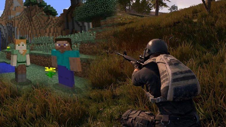 Minecraft'ı tahtından eden oyun PUBG oldu
