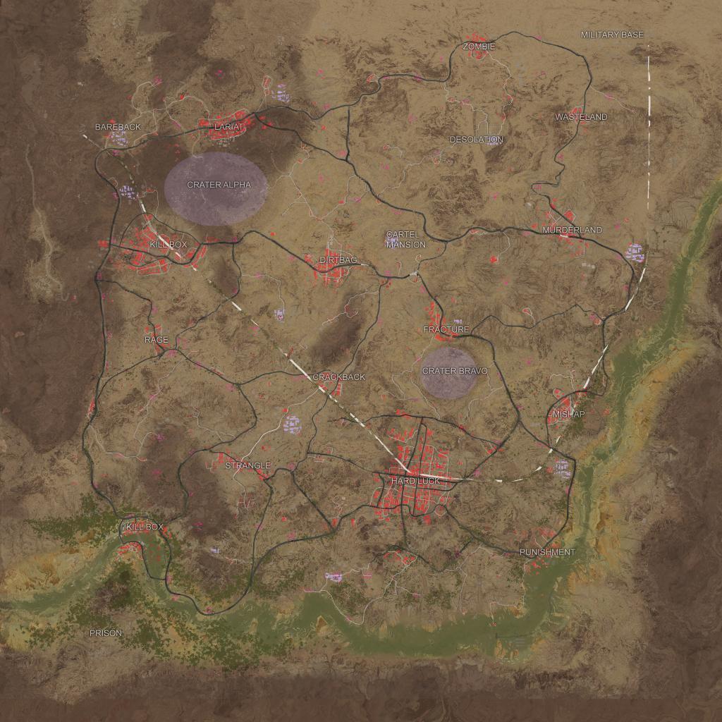 PUBG'nin çöl haritasının tamamı ortaya çıktı