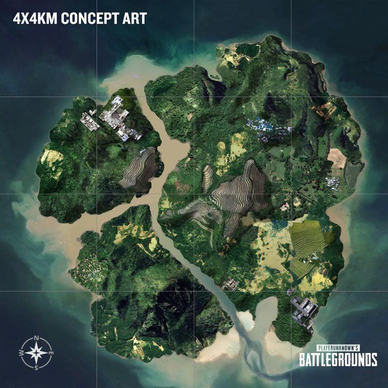 Playerunknown's Battlegrounds'un yeni haritası küçük ama ölümcül