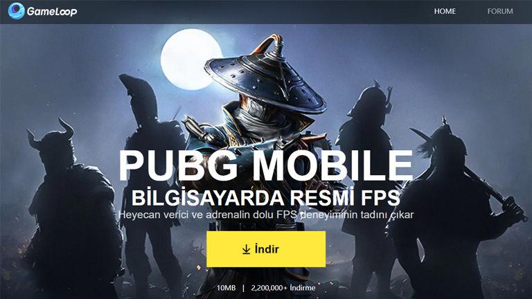 PUBG Mobile PC indirme