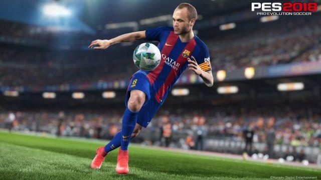 PES 2018'den 15 dakikalık PC oynanış videosu