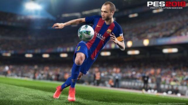 PES 2018'in oynanış videosu yayınlandı
