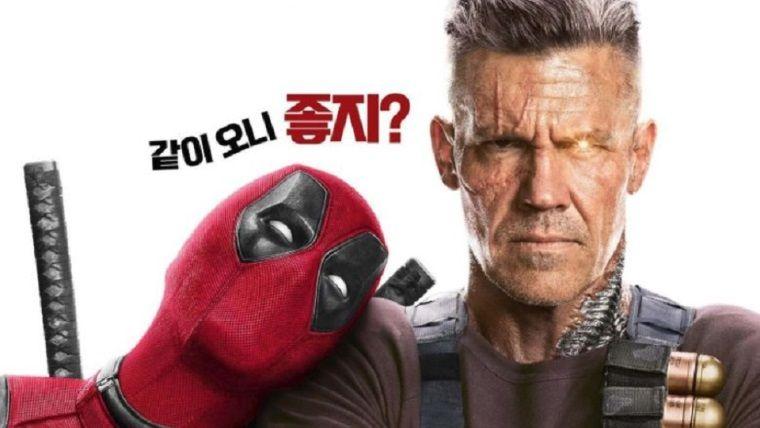 Yeni posterlerde Deadpool ve Cable manita gibi takılıyor