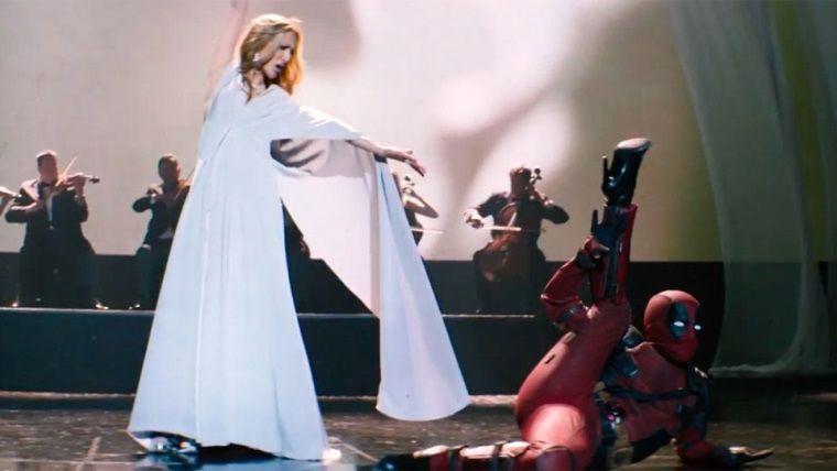 Deadpool bu sefer de ünlü şarkıcı Celine Dion'un klibini bastı