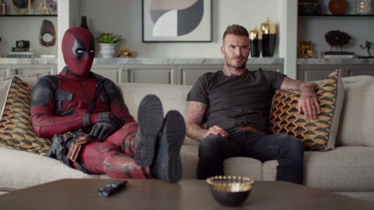 Deadpool, bu sefer de eski futbolcu David Beckham'a kafayı taktı