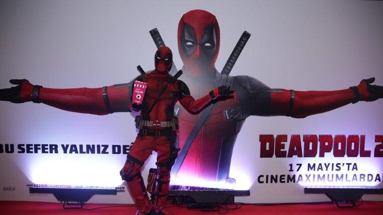 Deadpool 2'nin Türkiye galasına yoğun ilgi