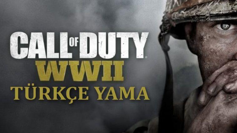 Call of Duty: WWII Türkçe yama yayınlandı