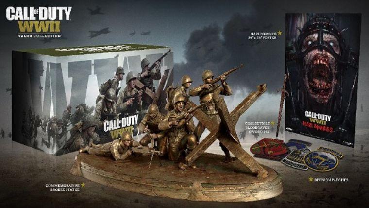 Call of Duty: WWII Valor Edition ortaya çıktı